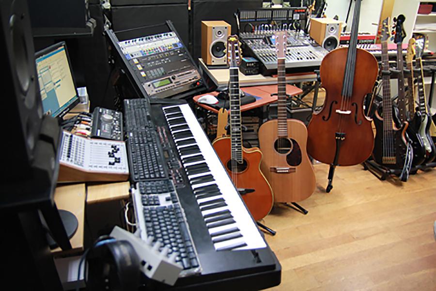 西荻窪レコーディングスタジオ BIGMADE MUSIC : Aスタジオの会場写真