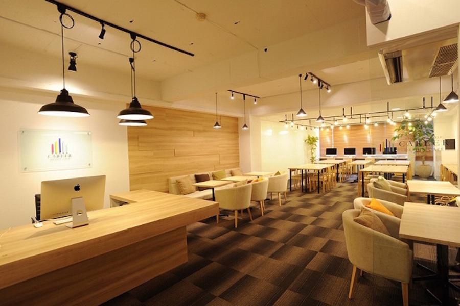 渋谷レンタルスペース キャリアデザインカフェ : カフェスペース貸切の会場写真