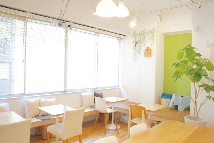 新富町レンタルカフェ コロッコ : カフェスペース貸切プランの会場写真