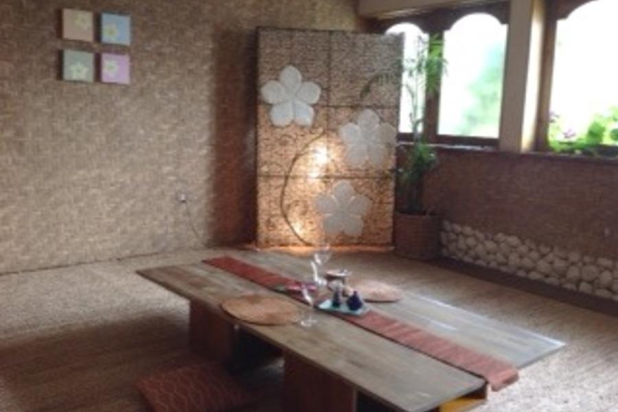 【福岡・みやま】 隠れ家バリ ハイドアウェイ : 座卓スペースの会場写真