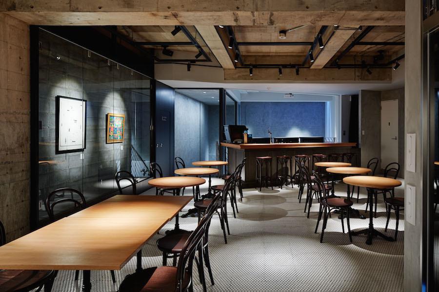 神宮前セゾンアートスペース : B1F カフェ・ダイニングバー貸切の会場写真