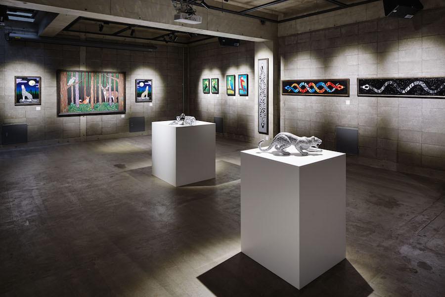 神宮前セゾンアートスペース : B2F ギャラリーの会場写真