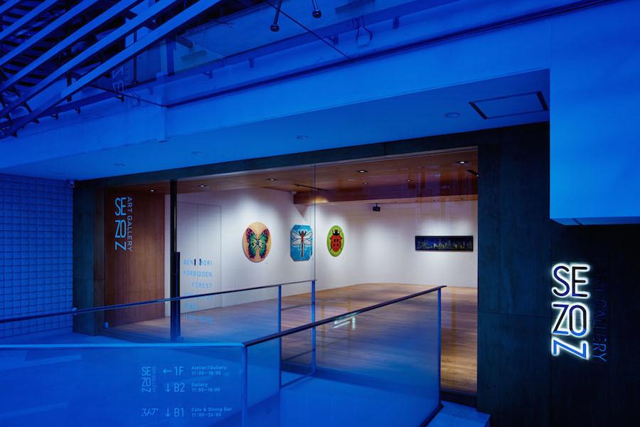 神宮前セゾンアートスペース : 1F アトリエ・ギャラリー & B2F ギャラリーの会場写真