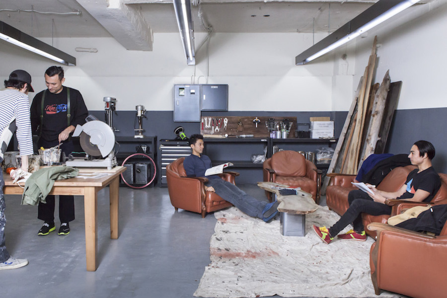市ヶ谷オフィススペース Lowp : ガレージスペース貸切の会場写真