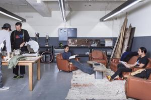 【市ヶ谷駅5分】工作機械が豊富なガレージスペースを貸切利用!の写真