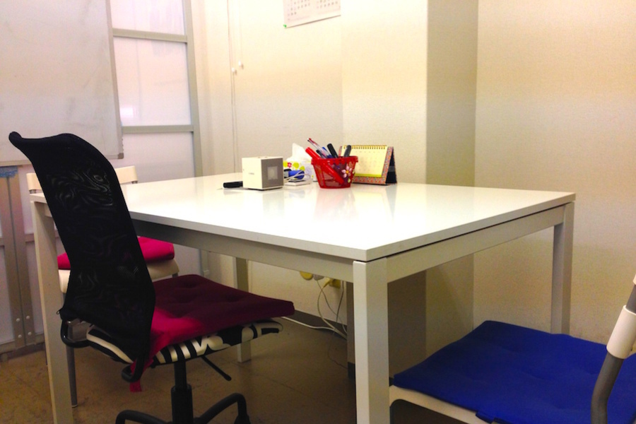 日暮里 貸し会議室「Mirinae」 : テーブルAの会場写真