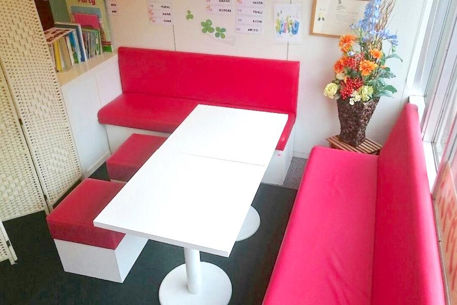 インスタント貸し教室 渋谷校 : 6名迄テーブルの会場写真