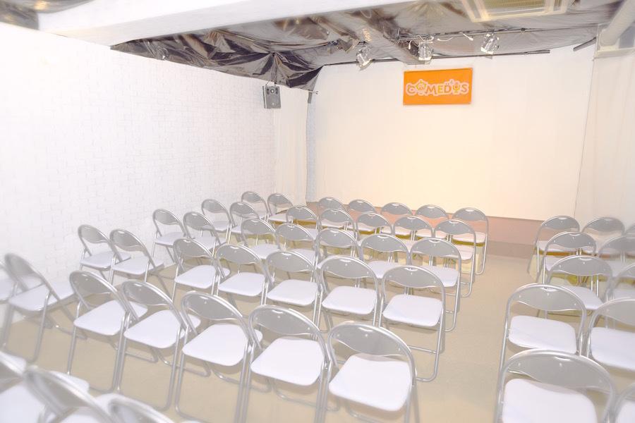 神保町貸しスタジオ『コメディーズ』 : 貸しスタジオの会場写真