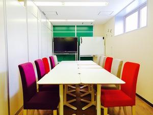 【八王子駅5分】ホワイトボード無料!最大12名で利用可能な貸し会議室の写真