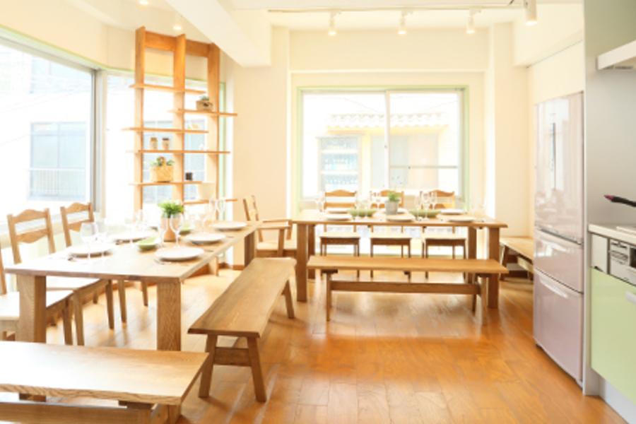 キッチンつきレンタルスペース「グリーンキッチン四谷」 : キッチンつきレンタルスペースの会場写真