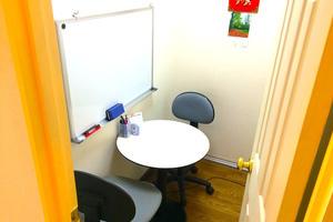 【池袋】打ち合わせスペース「GLS」: 2名用個室Aの会場写真