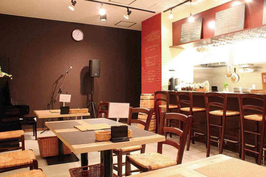 Js(じぇいず)カフェ : 店舗フロアの会場写真