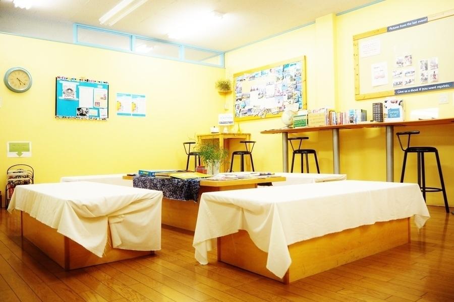 高砂ビル6階「英会話学校ザ・ニュービレッジ」 : スクエア(共同エリア)の会場写真