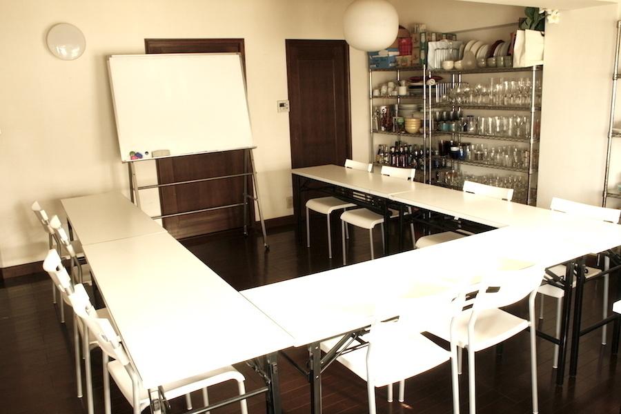 目黒レンタルスペース「チュアレゾン」 : 8名用 貸し会議室プランの会場写真