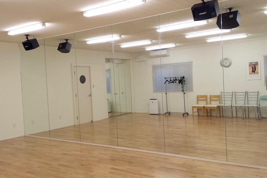 【大田区久が原】パレアダンススタジオ : 貸切ダンススタジオの会場写真