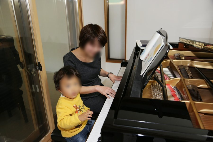貸しピアノ室 ショパンの部屋 : ピアノ室の会場写真