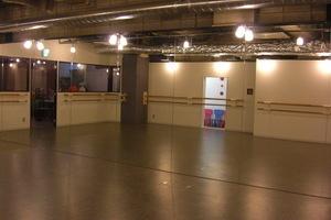 おしゃれなスタジオ Shanty : ダンススタジオの会場写真